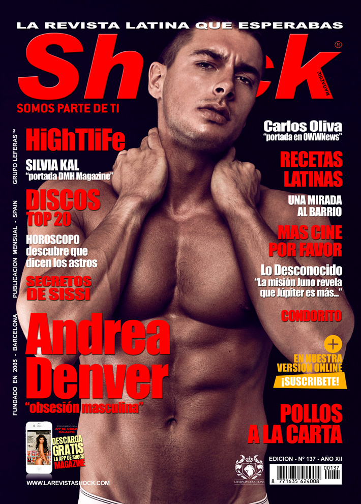 Andrea Denver chico shock