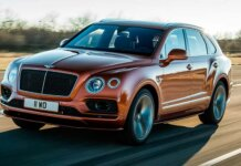 Bentley Bentayga Speed de 635 CV